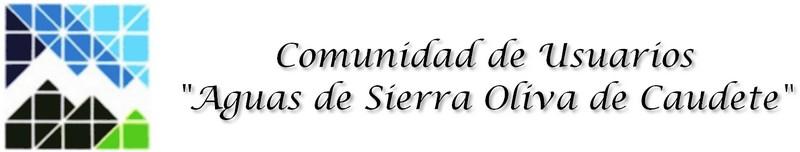 """Comunidad de Usuarios """"Aguas de Sierra Oliva"""""""